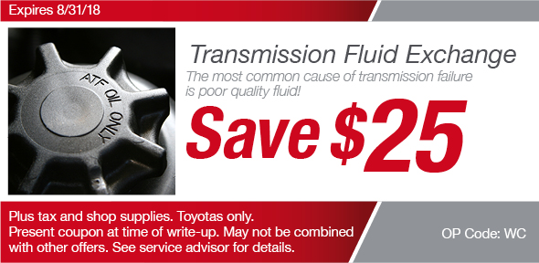 Transmission Fluid Coupon, Richardson