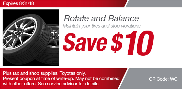 Rotate And Balance Coupon, Richardson