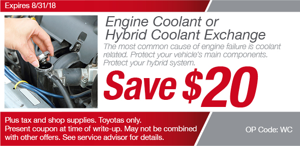 Coolant System Coupon, Richardson